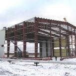 Строительство ангаров, Рязань