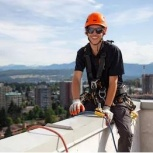 Рязань на высоте Промышленные альпинисты верхолазы Рязани, Рязань
