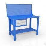 Стол слесарный с экраном и ящиком вст-Н 12/тп1-Э4, Рязань