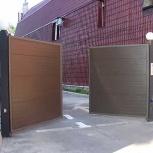 Въездные распашные ворота, Рязань