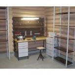 Мебель в гараж (верстак+стеллаж), Рязань