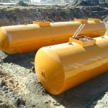 Резервуар горизонтальный стальной РГС-50 м3 (РГСП-50м3), Рязань