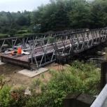 Автодорожный быстровозводимый мост., Рязань