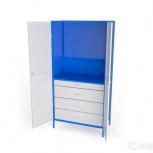 Шкаф металлический под инструменты ши-1П-4Я, Рязань