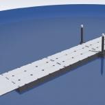 Секция понтонного моста 48 метров, понтонный мост, причал., Рязань