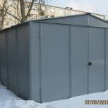Металлические гаражи. Изготовление, монтаж, Рязань
