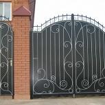 Металлические калитки и ворота – прочно и красиво, Рязань