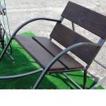 Кресло-качалка металлическая для сада, террасы., Рязань
