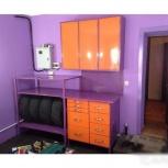 Металлическая мебель (верстак, стеллаж, антресоль), Рязань