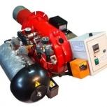 Горелка AL-35V (120-360 кВт) для котла на отработанном масле, нефти, Рязань